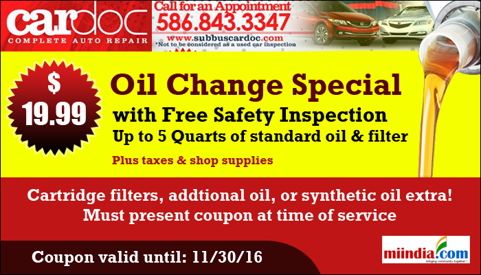 Lexus Coupons Oil Change U003eu003e Car Doc   Complete Auto Repair | Car Repair  Services