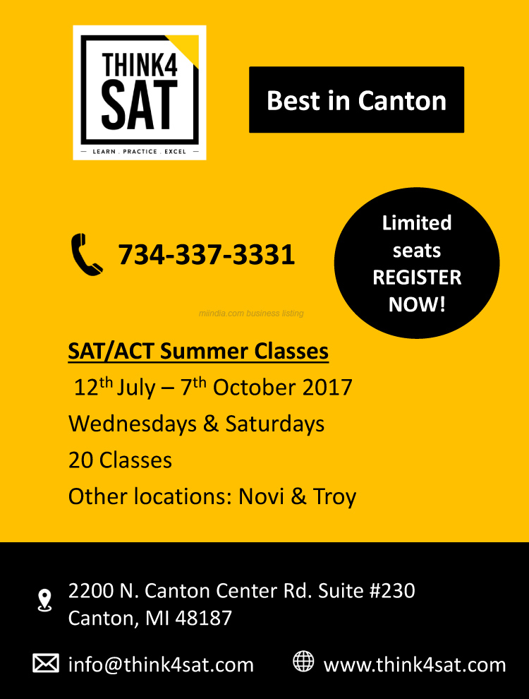 SAT/ACT Summer Classes in Canton, Michigan