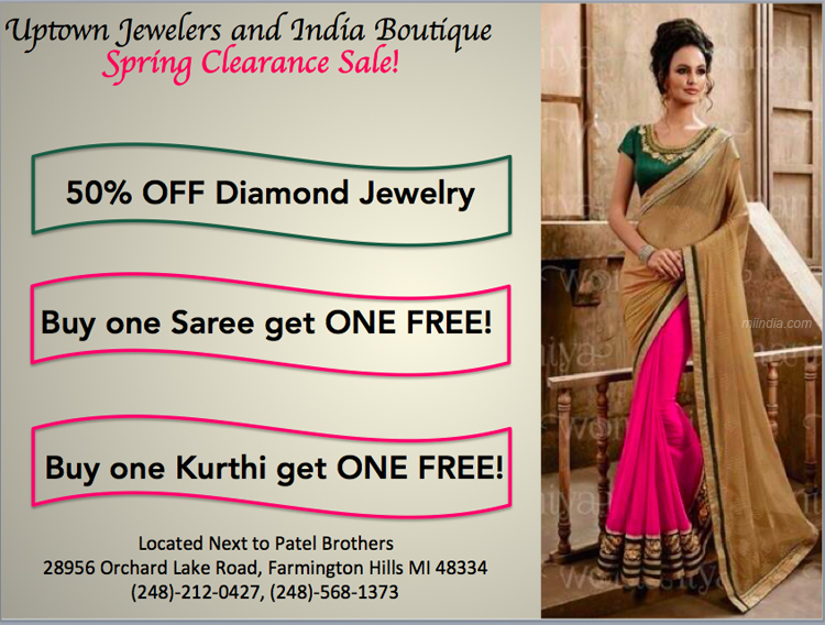 Sale in Uptown Jewelers Michigan