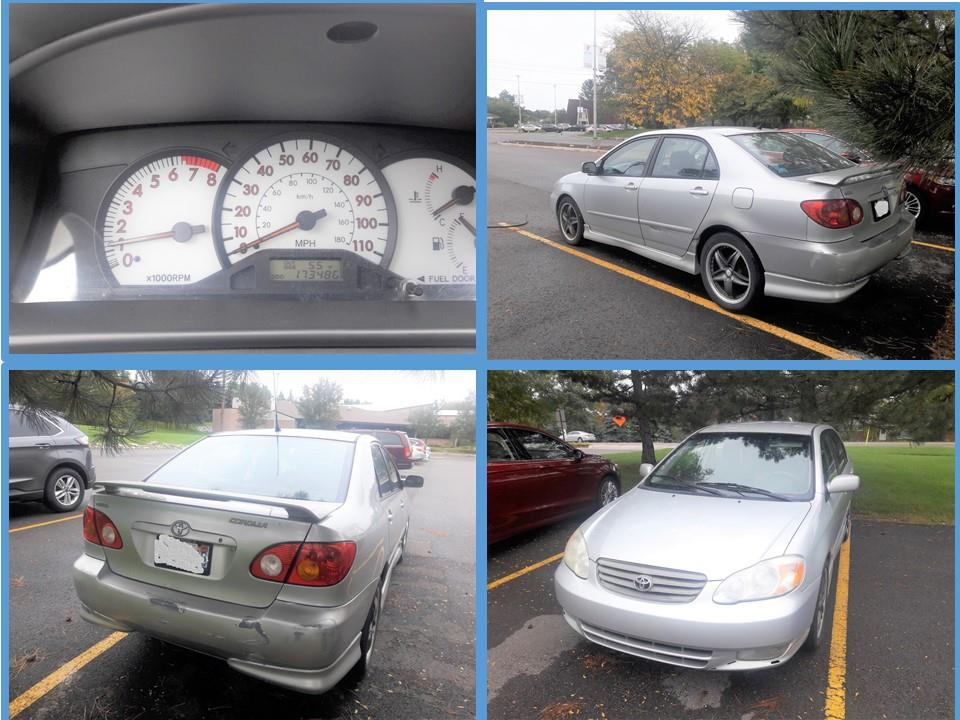 Captivating 2004 Toyota Corolla Silver For Sale Mileage ~170K Asking Price $2500  (Negotiable) Black Interiors Clean Title Reason For Sale   Upgrading To New  Vehicle.