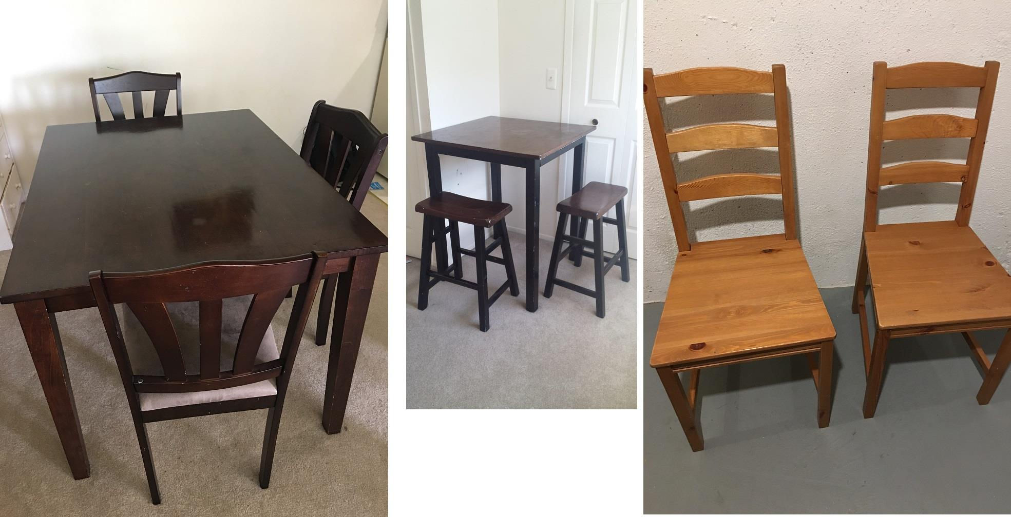 Location Westland Dining Table with 3 Chair