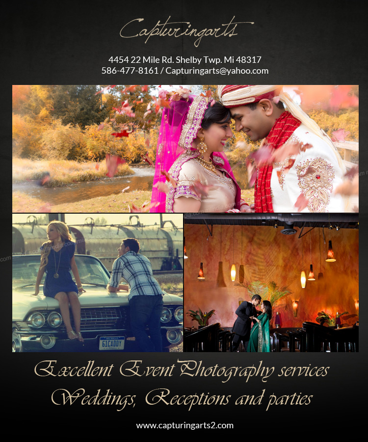 Michigan's Excellent Event Photography services for Weddings, Receptions and parties