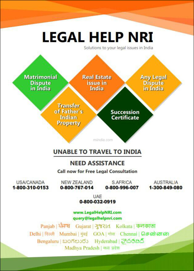 Legal Services for Non-resident Indians