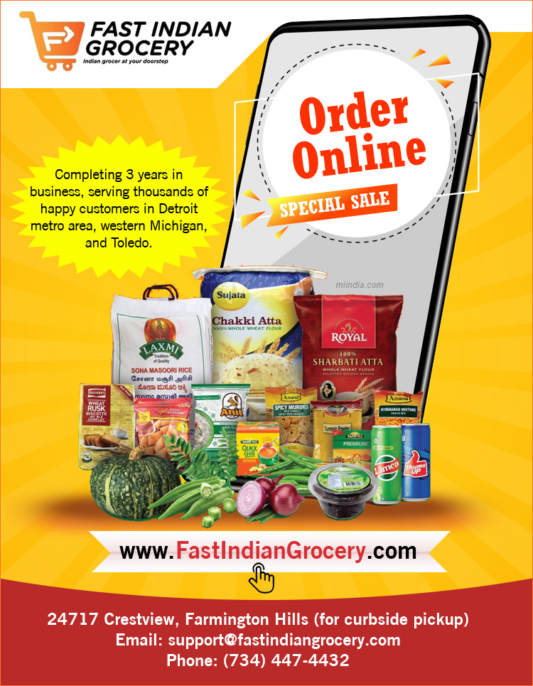 Fast Indian Grocery in Michigan