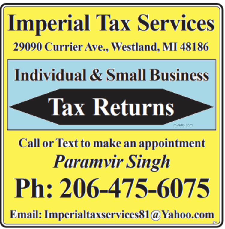 Individual & Small Business Tax Returns in Michigan