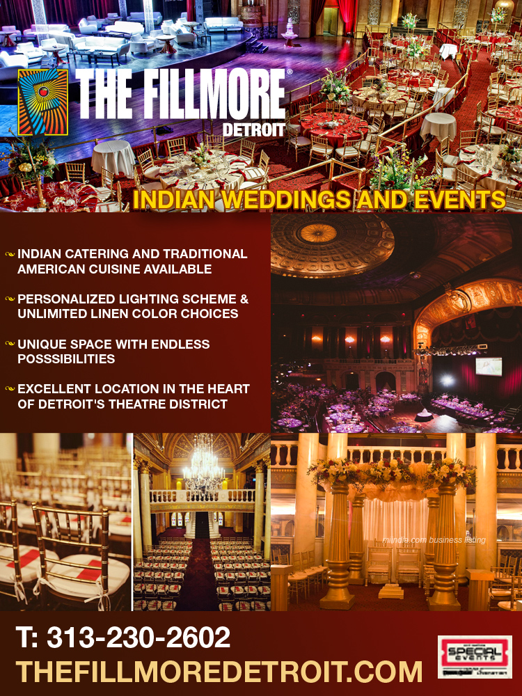 Indian Wedding & Special Events in Detroit Michigan