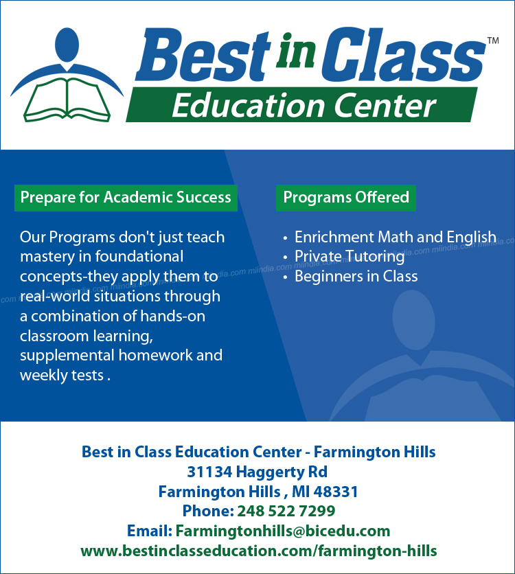 Best in Class Education Center - Farmington Hills, Michigan