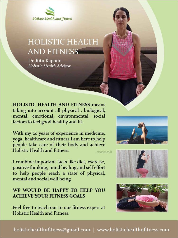Holistic Health and Fitness by Dr. Ritu Kapoor