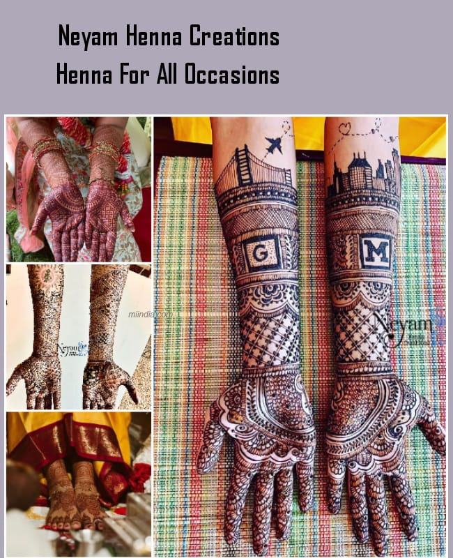 Neyam Henna for all occations