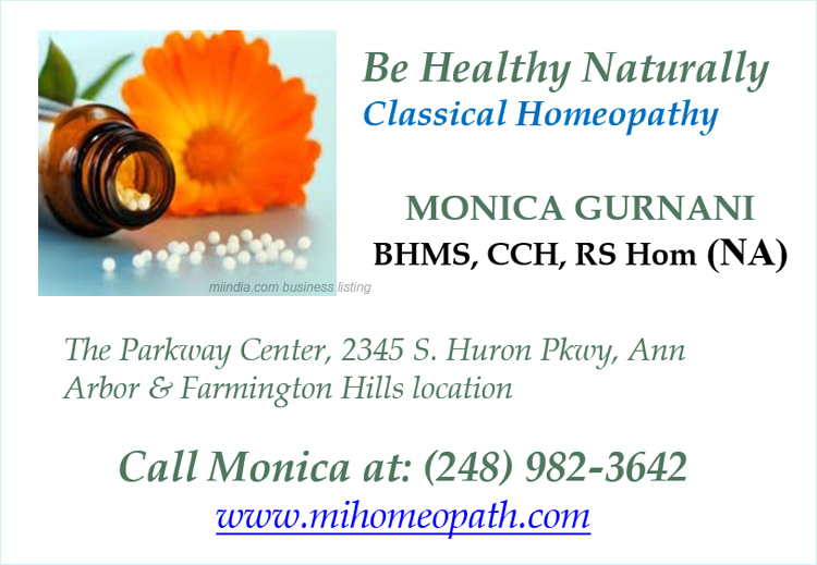 Monica Homeopathy Doctor in Michigan