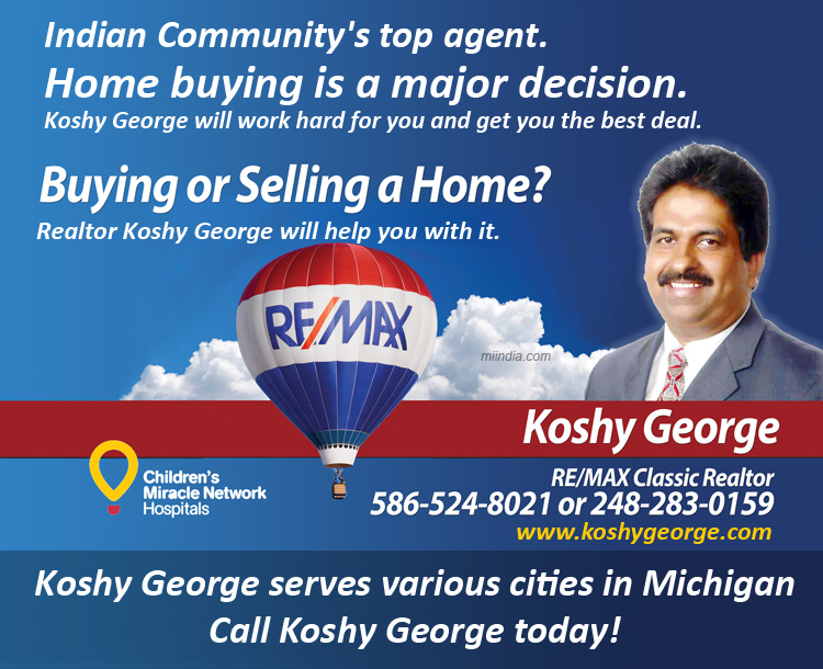 Koshy George - Realtor Agent in Michigan
