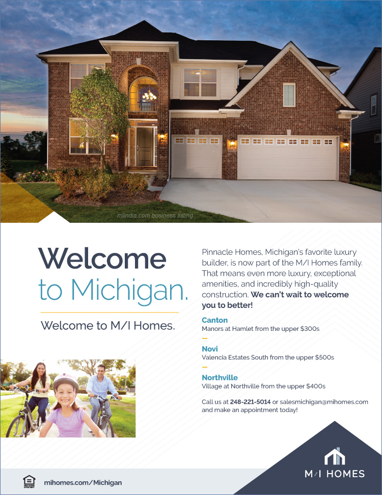 M i homes in michigan mi homes in michigan detroit for House builders in michigan