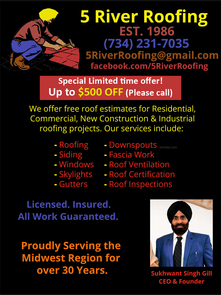 5 River Roofing & Repairs
