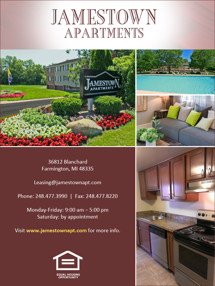 Jamestown Apartments, Farmington Michigan