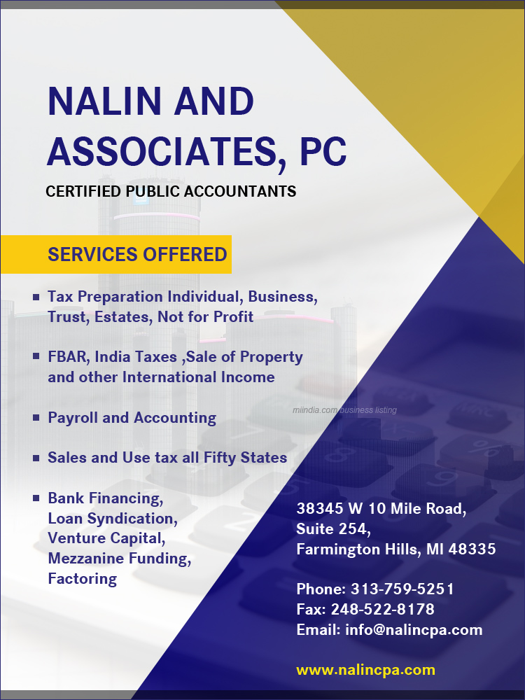NALIN AND ASSOCIATES, PC - Certified Public Accountants