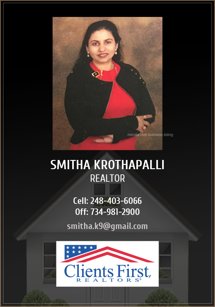 Smitha Krothapalli - Realtor in Michigan