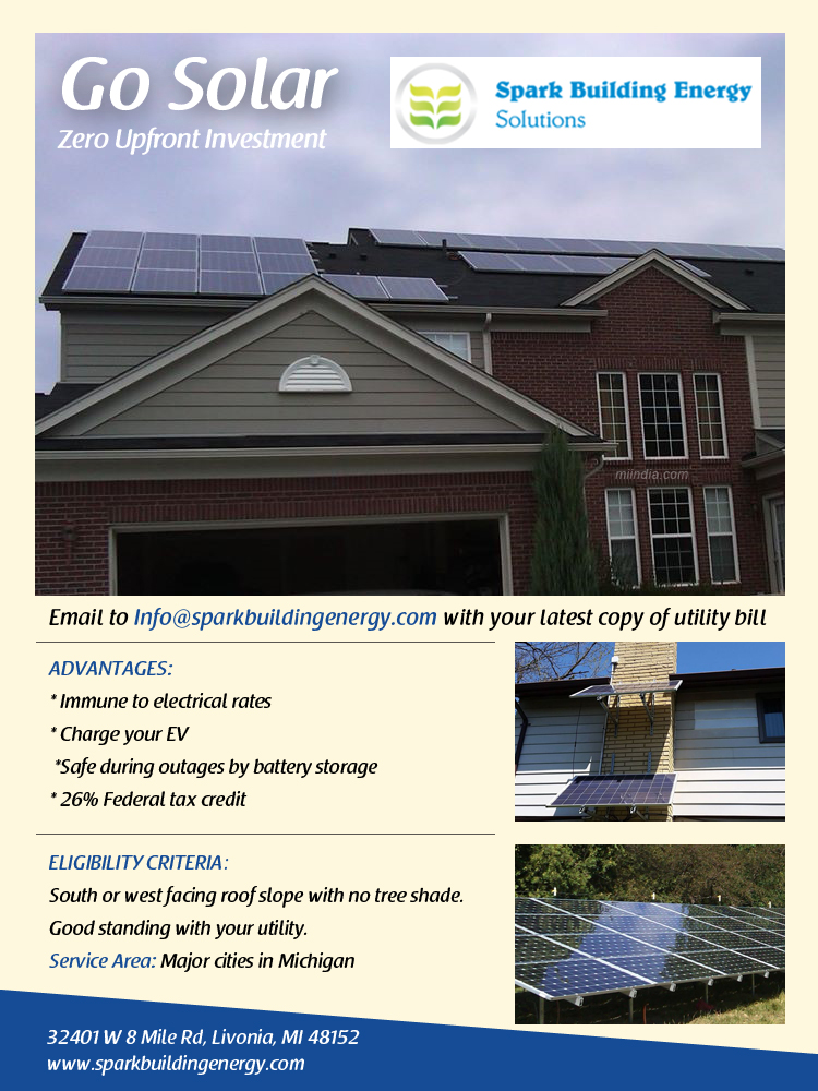 SPARK Home Energy Audit in Michigan