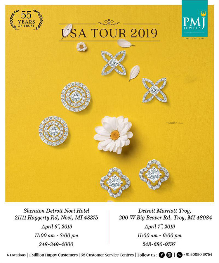 PMJ Jewels USA Tour 2019 - Jewelry Show in Novi & Troy