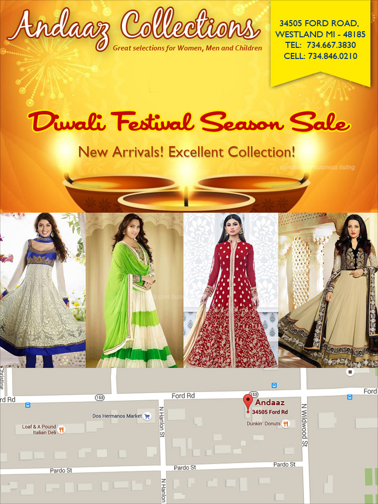 Andaaz Collections Fashion Clothing In Canton Michigan